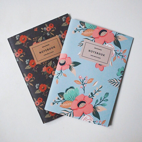 Vintage Notebook Set 100% reciclado