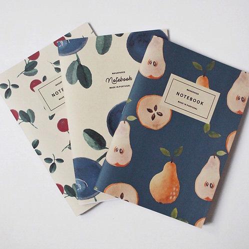 Fruits Notebook Set