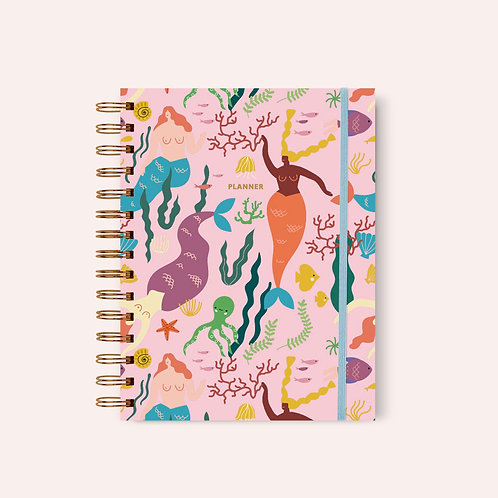 Planner Under the Sea Pink