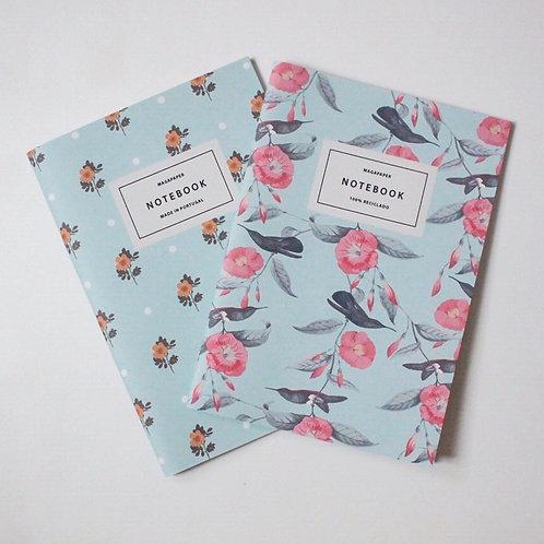 Loving Blue Notebook Set 100% reciclado