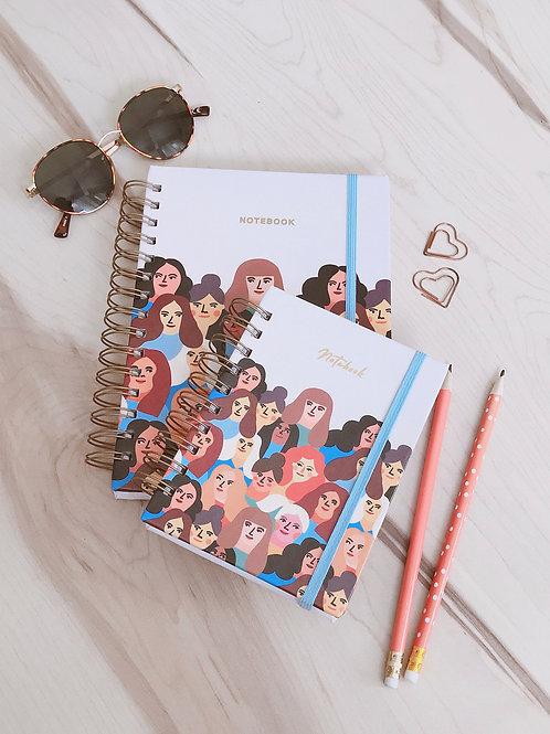 Notebook Women Power A5 e A6