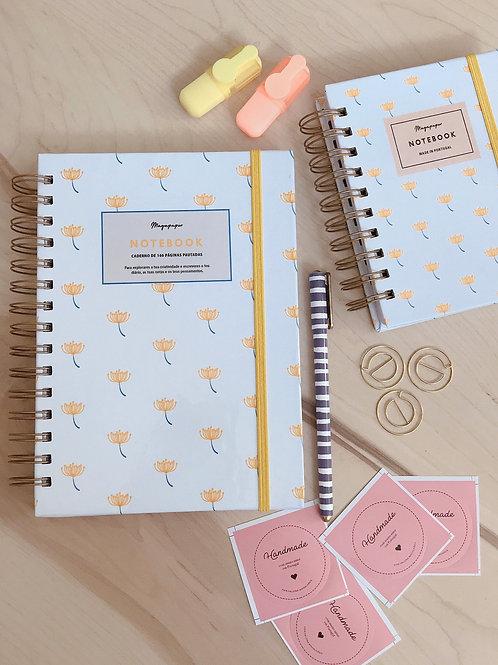 Notebook Yellow Floral A5 e A6