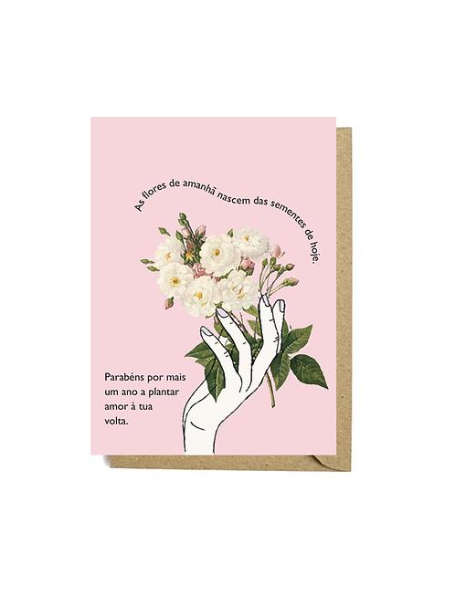 Flores de parabéns #2