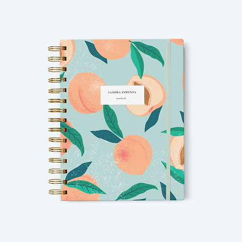 Notebook Peach