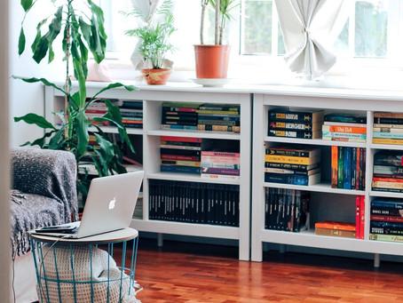 Como criar, organizar e limpar uma biblioteca caseira (pequena ou grande)