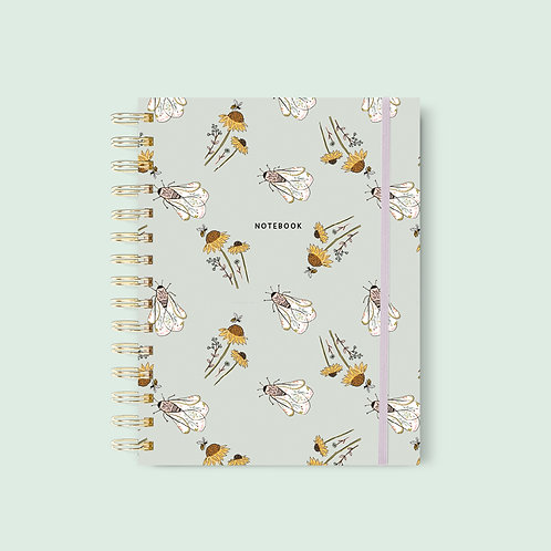 Notebook A5 Bees