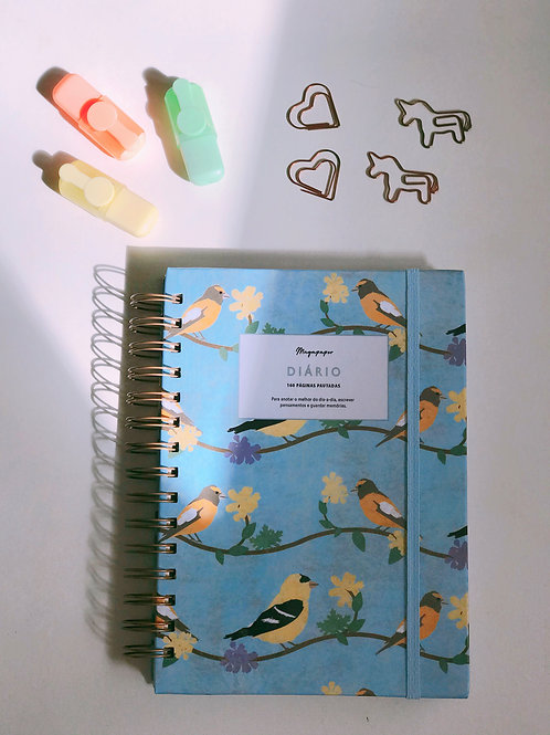 Diário Blue Birds