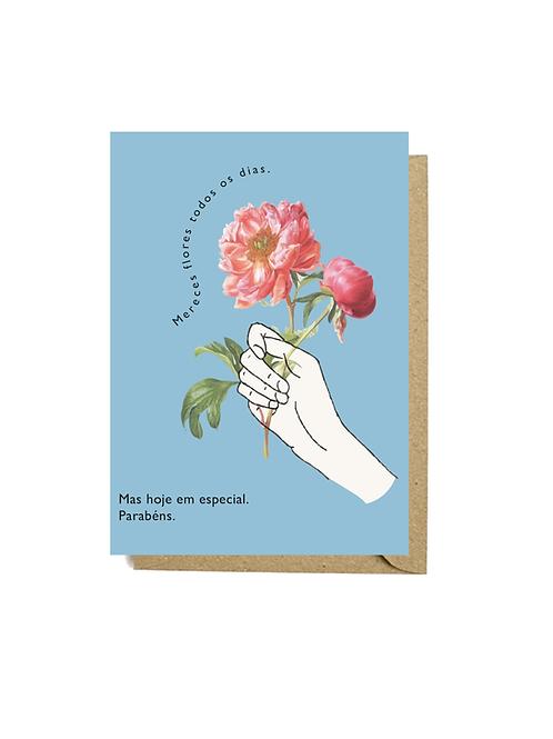 Flores de parabéns #1