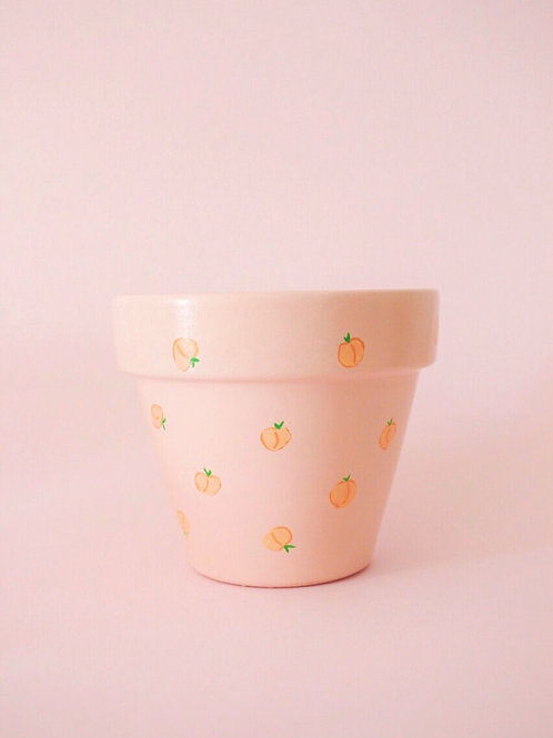 LITTLE PEACH POT