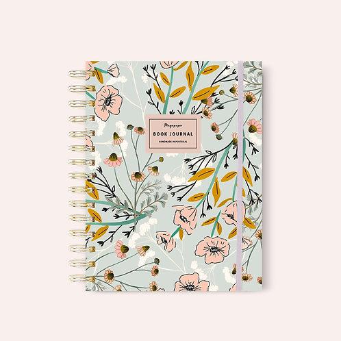 Book Journal Summer Garden
