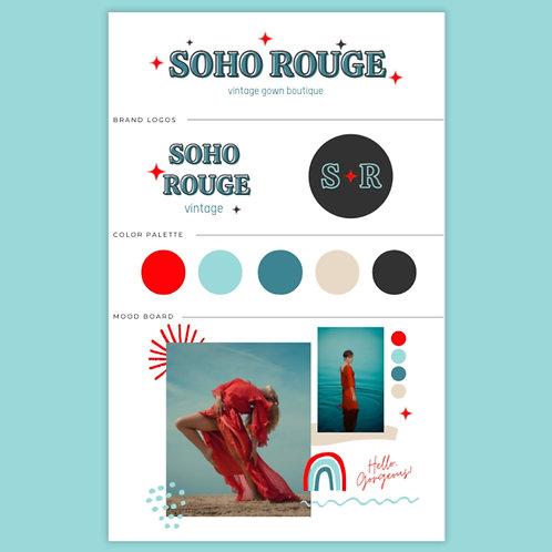 Soho Rouge Brand Kit
