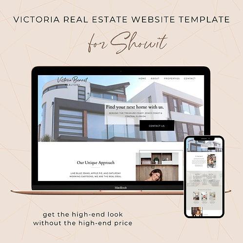 Victoria Showit Website Template