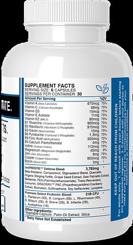 UroPROSTIS Supplement Facts
