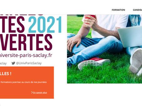 Journées Portes Ouvertes à L'Université Paris Saclay