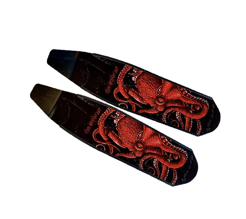 Wild Red Octopus Carbon