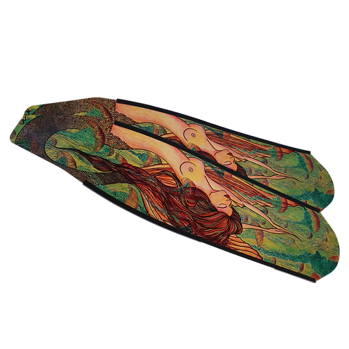 Mermaid Green Carbon