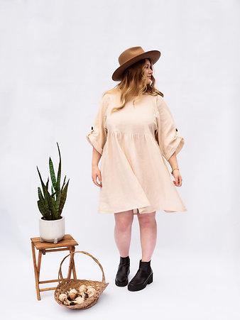 Bonnie Ruffle Dress - Women