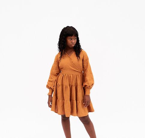 Cordelia Puff Sleeve Dress