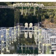 houppa miroir luxury design sol mirroir