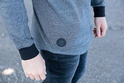 sweat ritchie patch - ritchie jeans distributeur grossiste vetement homme femme et enfant marseille