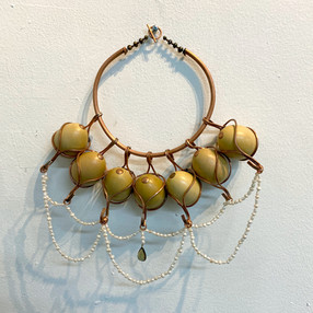 Eggcentric Necklace