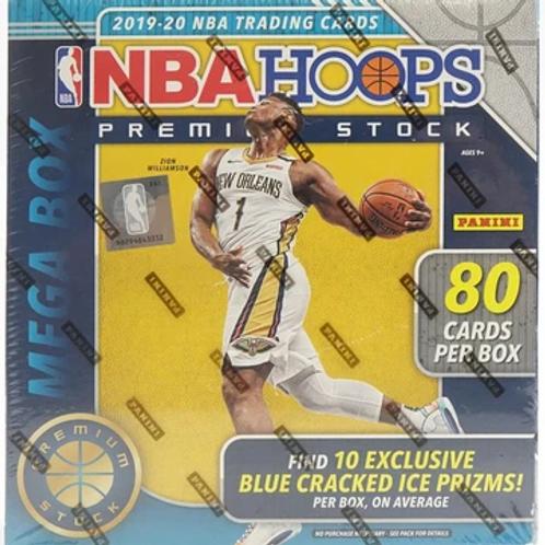 2019-20 Panini Premium Hoops Mega Box NBA