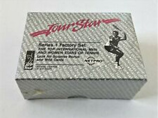 1991 ATP Tour Netpro Series 1 Factory Set Tennis Cards Box