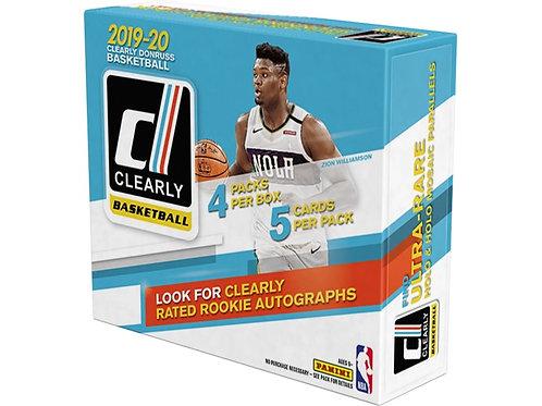 19-20 NBA Clearly Donruss Hobby Box