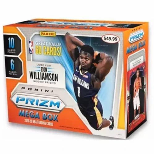 2019-20 Panini Prizm Mega Box NBA