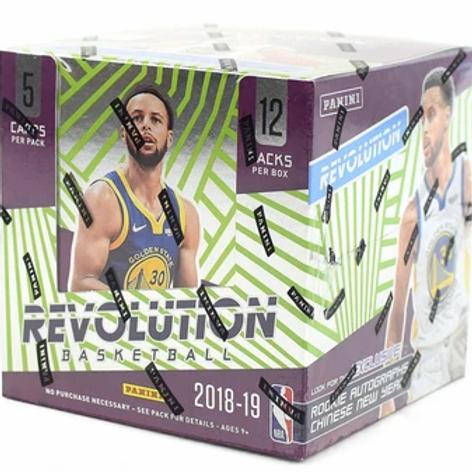 2018-19 Panini CNY Revolution Hobby Box NBA