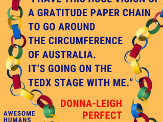 Awesome Humans Podcast 25 Donna-Leigh Perfect