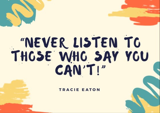 Quote from Tracie