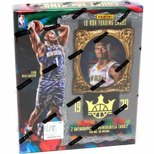 2019-20 Panini Court Kings Hobby Box NBA