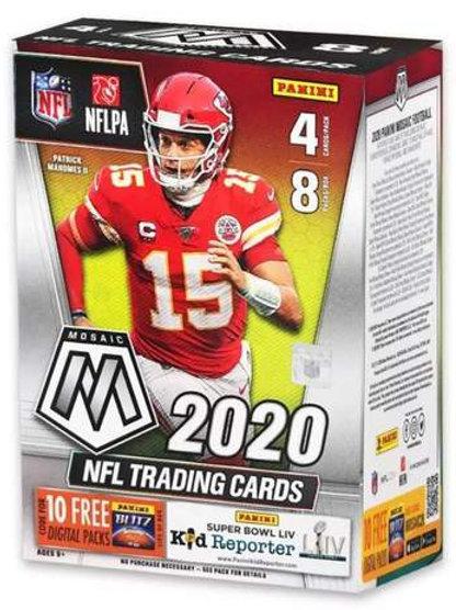 2020 Panini Mosaic Prizm Blaster Box NFL
