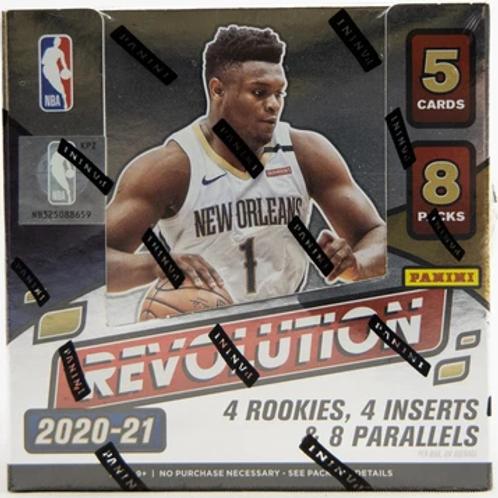 2020-21 Panini Revolution Hobby Box NBA