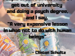 Awesome Human Clinton Schultz