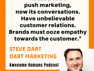 Awesome Humans Podcast 23 Steve Dart