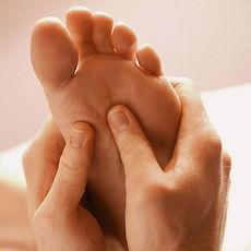 massage des points de réflexologie