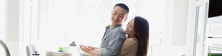 Cohabitation Agreements - Couple hugging