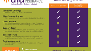 Working with UIA Health Insurance vs. an Insurance Carrier