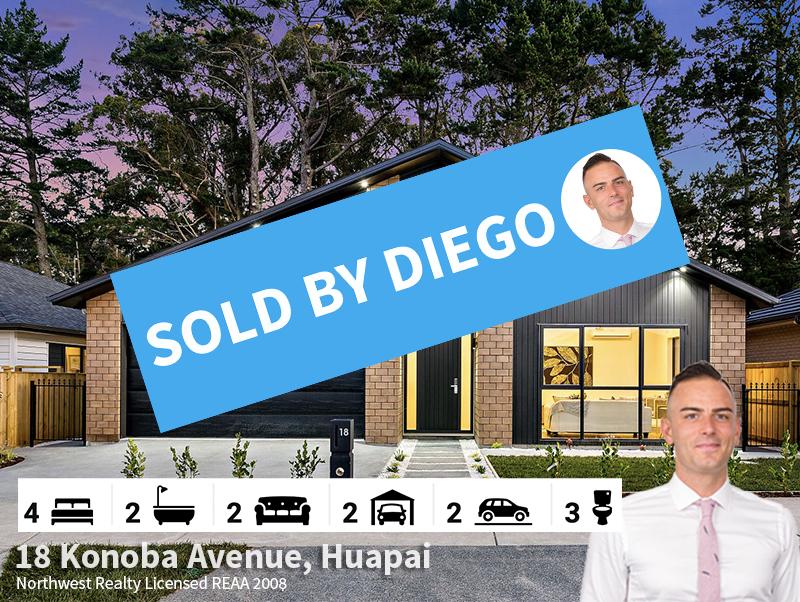18 Konoba Avenue, Huapai SOLD by Diego T