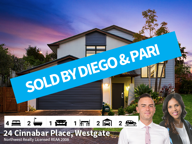 24 Cinnabar Place, Westgate SOLD by Dieg