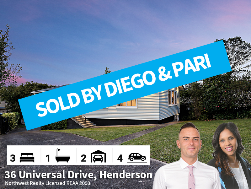 36 Universal Drive SOLD By Diego & Pari.