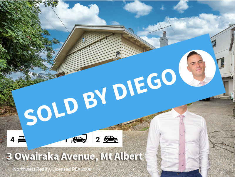 3 Owairaka Avenue, Mt Albert SOLD