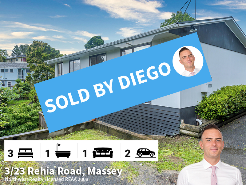 3-23 Rehia Road, Massey SOLD by Diego Tr