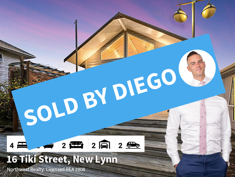 16 Tiki Street, New Lynn SOLD by Diego T