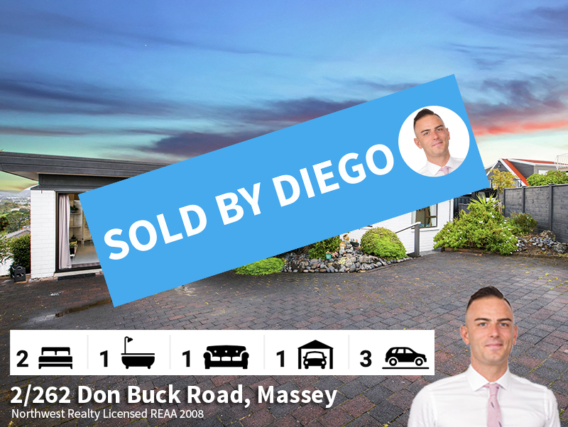 2-262 Don Buck Road, Massey SOLD by Dieg