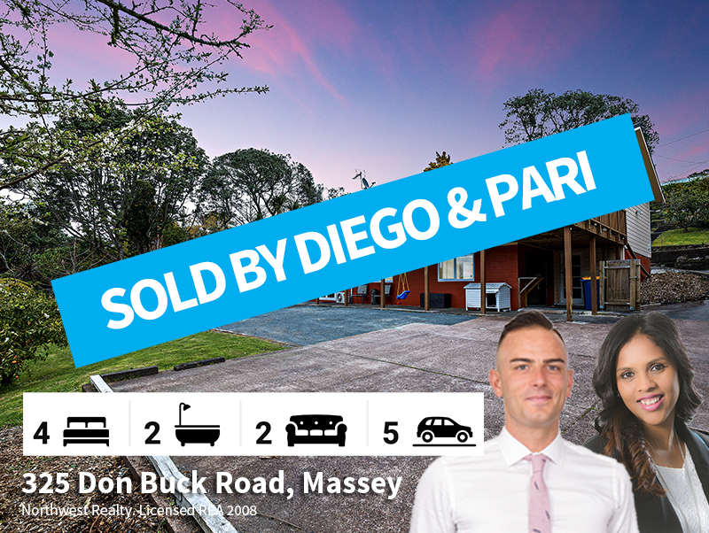 325 Don Buck Road SOLD by Diego & Pari