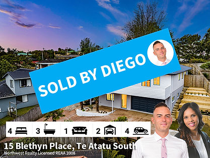 15 Blethyn Place, Te Atatu South SOLD by