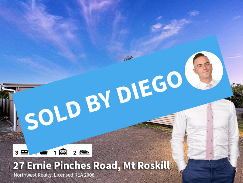 27 Ernie Pinches Street, Mt Roskill SOLD